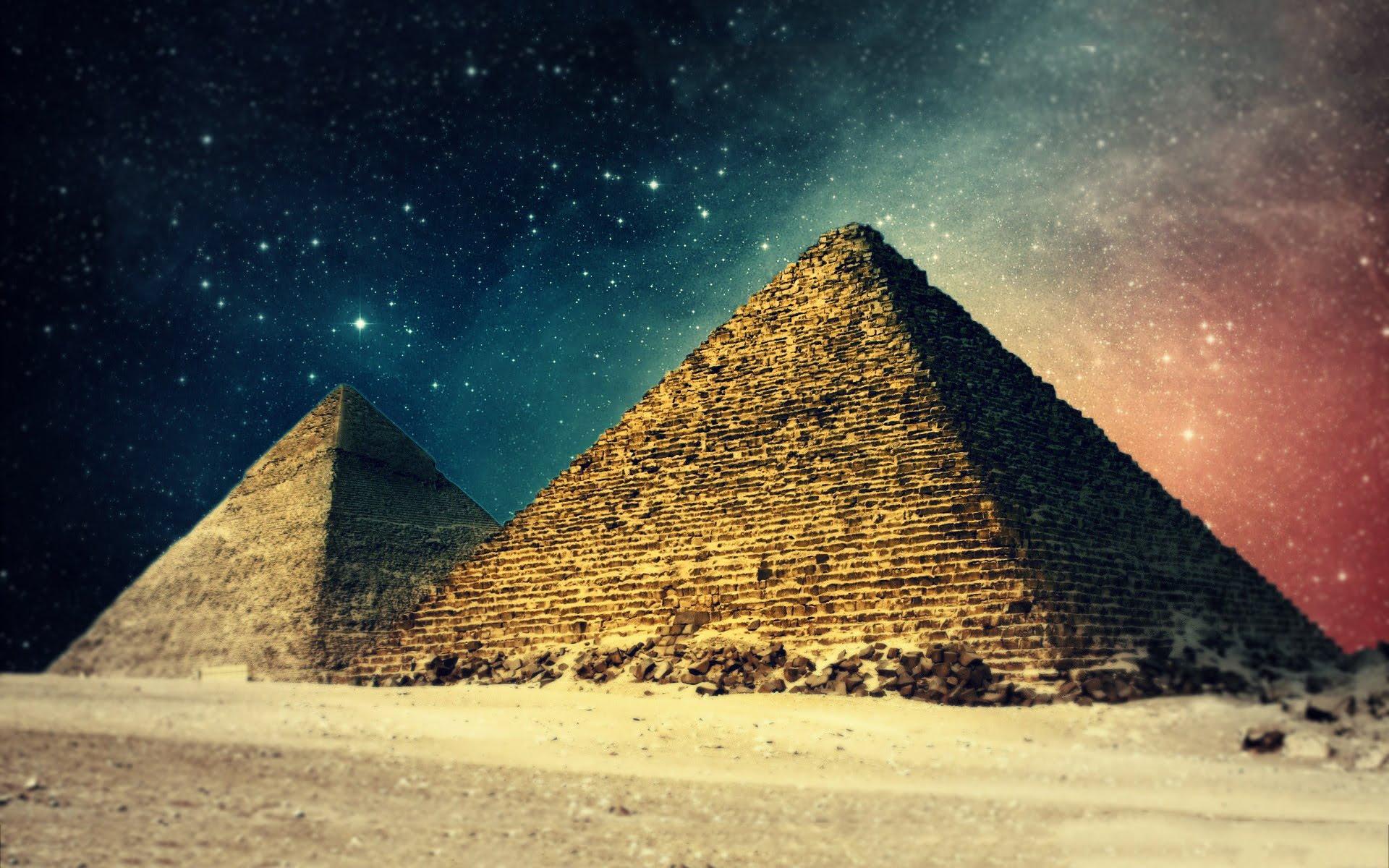 Bu inanılmaz Mısır üçgeni